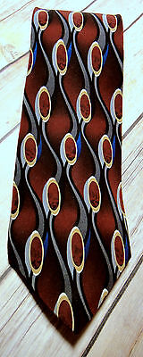 "COCKTAIL COLLECTION ""Martini"" 100% Imported Silk Necktie Made in USA  58"""
