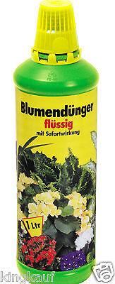 5x 1L Blumendünger flüssig Universaldünger,Dünger,Flüssigdünger,Pflanzen 5L 2