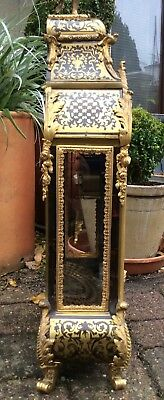 Huge 17th / 18th Century French Louis XIV Boulle Cartel Bracket Clock. Not fusee 7