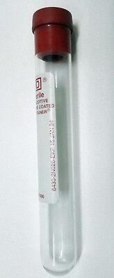 20 provette di vetro con tappo di gomma capacità 10ml 10 ml collezionismo 16x100