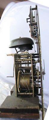 Welsh Musical LongCase Clock John Thackwell of Cardiff Adam & Eve Automaton 1750