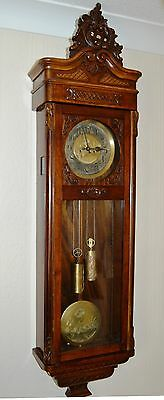 Antique Original Gustav Becker Wall Clock Huge 143 Cm Vienna Regulator 2