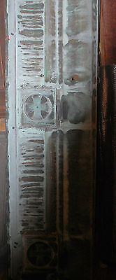 Vintage Copper Architectural Ornate Building Facia From 100 Year Old Hospital 3