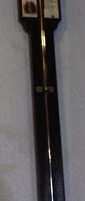 Antique stick barometer signed BELL MAKER GLASGOW 3