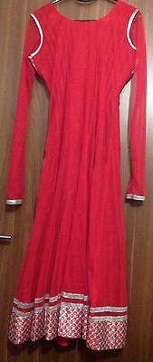 Dress Ladies Churidar Suit Asian Long Churidaar Bollywood Wedding Party Dress 3