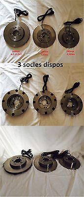 Socle pour lampe ou liseuse JIELDE Diamètre 240mm 3,1Kilos 2