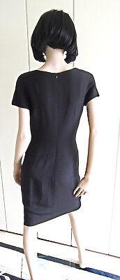 Kleid Abendkleid Escada Couture Gr. 36 schwarz weiß Pailletten edel LUXUS PUR 5