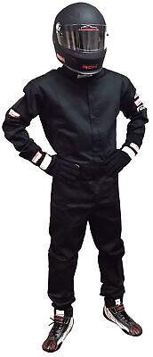 FIRE SUIT SFI 5 PANTS SFI 3-2A//5 RACE SUIT IHRA NHRA BLACK SM MD LG XL 2X 3X 4X