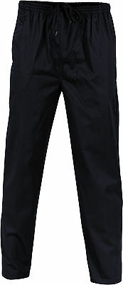 2 X Polyester Cotton Drawstring Chef Pants- DNC Workwear 1501 3