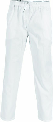 2 X Polyester Cotton Drawstring Chef Pants- DNC Workwear 1501 6