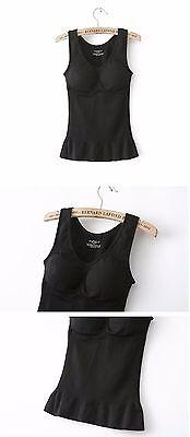Cami Shaper Body Shape Wear Genie Bra Tummy Trimmer Tank Seamless Top Camishaper 5