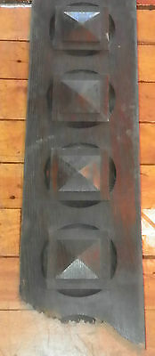 Lot Of 5 Wooden Architectural Pieces 4821