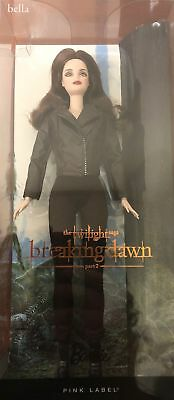 Bella Twilight Saga Breaking Dawn Part 2 Doll - NEW- Barbie Pink Label Collector 3