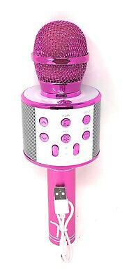 Microfono Wireless Con Altoparlante Cassa Integrata Bluetooth Portatile Karaoke 2