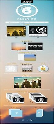 US SHIPPING Day6 Sunrise 1st Album CD+PhotoBook+ClearCover+LyricsBook+Card 12