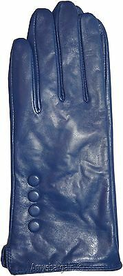 Leather gloves. Size S, M, L, XL. Woman's Leather  winter Gloves. Dress Gloves. 9