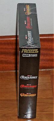 Los Vengadores Coleccion 3 Peliculas Blu-Ray Precintado Accion (Sin Abrir) R2 5