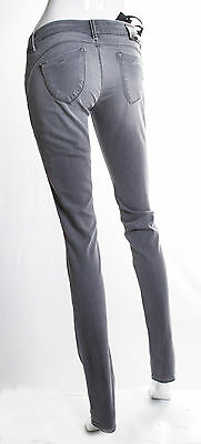 Jeans Gas Donna Beautiful Body Fit  Slim Superstretch Grigio Invecchiato 3