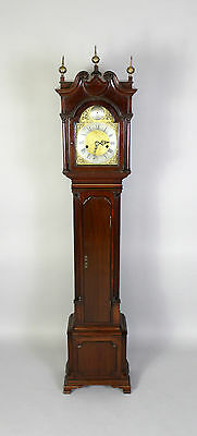A Mahogany Grandmother Clock By John Walker London 2