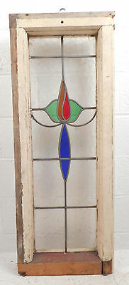 Vintage Stained Glass Window Panel (2816)NJ 3