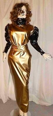 Lackkleid,Transvestit,Zofenkleid, Shiny,WetlookMaiddress Vinyldress,Sissydress,C 2