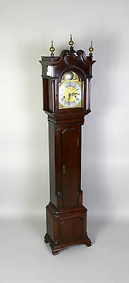 A Mahogany Grandmother Clock By John Walker London 3