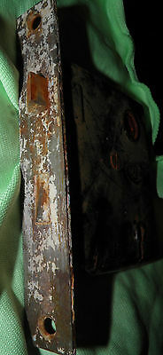Antique Eastlake Brass Door Knobs Orbin Hardware Locksets Victorian BIN Save $$ 7