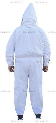 Pro Heavy Duty Cotton Beekeeping Suit Unisex Bee Suit Beekeepers Large Size