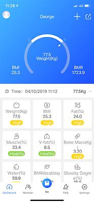 Wireless Digital Bathroom Body Fat Scale 180KG Bluetooth Scales Weight BMI Water 11