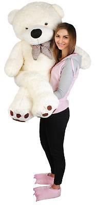 XXL Teddybär 160 cm Plüschtier Plüschbär Kuscheltier Stofftier Riesen Groß #4657