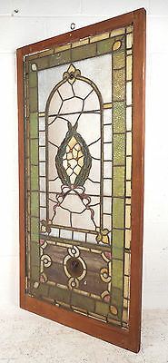 Vintage Stained Glass Window Panel (2939)NJ