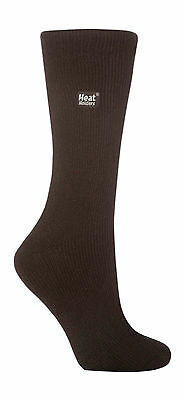 Ladies Genuine Plain Black Heat Holders Thermal Socks 4-8 uk, 5-9 us, 37-42 eur 2