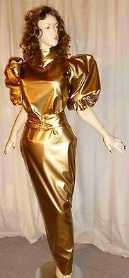 Lackkleid,Transvestit,Zofenkleid, Shiny,WetlookMaiddress Vinyldress,Sissydress,C 4