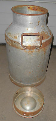 milch kanne milchkanne  BMV rottweil alt behälter top garten  deko zum bemalen 3