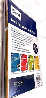 Bond 11+ Plus Assessment Papers 10-11  years 4 Books EnglishMathsVerbalReasoning 2