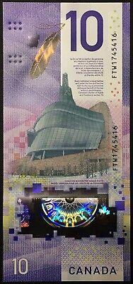 Banknote - 2018 Canada $10 Ten Dollar Polymer, Viola Desmond, UNC