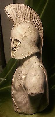 Greek Sculpture King Leonidas of Sparta Statue Art Ornament Decor Figurine 38 cm 4