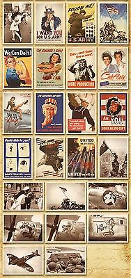 Lot of 32 Postcard Vintage World War II Photo Picture Poster Post Cards 3