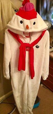 BNWT Snowman All-In-One Onezzie-Size 8-Fancy Dress Olaf Frozen Costume 3