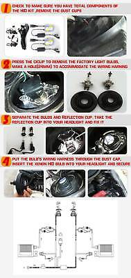 Hid Conversion Kit  9006 H1 H3 H4 H7 H11 9005 Xenon Headlight Bulbs 55W Ballast 12