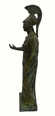 Athena Piraeus Goddess of Wisdom Great bronze Pallas sculpture statue artifact 6 • CAD $4,876.33