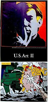 1973 Fine ROBERT INDIANA & HANS HARTUNG original LITHOGRAPHS XX Siecle ART BOOK 11