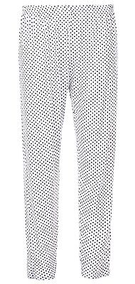 BNWT Ladies Trousers Stretch Fit Print Pattern Sizes 8-18 Elasticated Waist 3