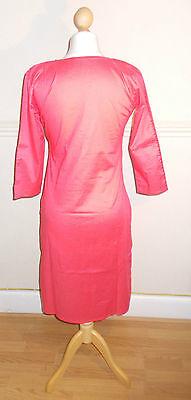 Ladies/ Women / Girl's Pakistani/Indian Embroided Kurta/Kurti / Pink Color 2