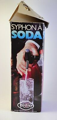Vintage HUNGARY  Soda Siphon Antique Syphon Seltzer bottle - unused 10