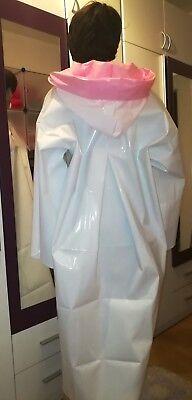 100% PVC Regencape Lack Gummimantel Raincoat Regenmantel Geschmeidig Vintage XL 2