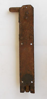 Antique Door Slide Latch Bolt Lock 5