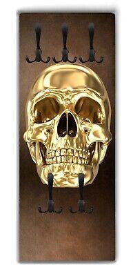 Wandgarderobe Totenkopf Skull WG280 Garderobe Flur Garderobenpaneel 4 Größen