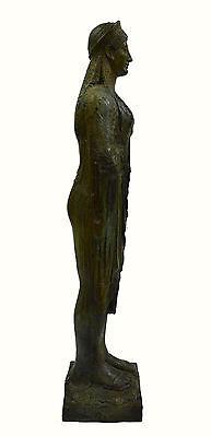 Caryatid Caryatis Kore bronze Ancient Greek aged Great statue sculpture artifact 5