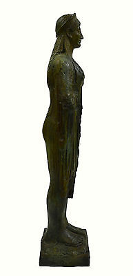 Caryatid Caryatis Kore bronze Ancient Greek aged Great statue sculpture artifact 5 • CAD $3,188.10